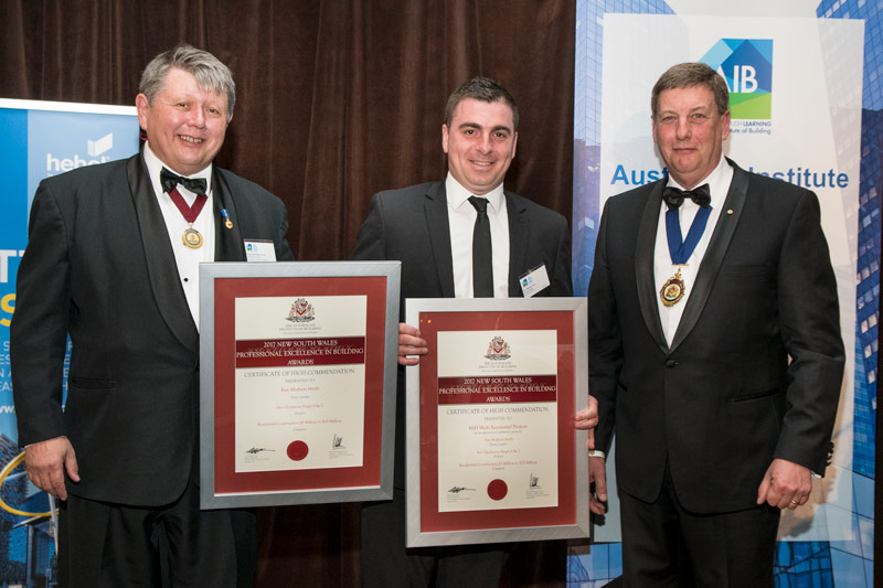 Ben Mathers receives High Commendation