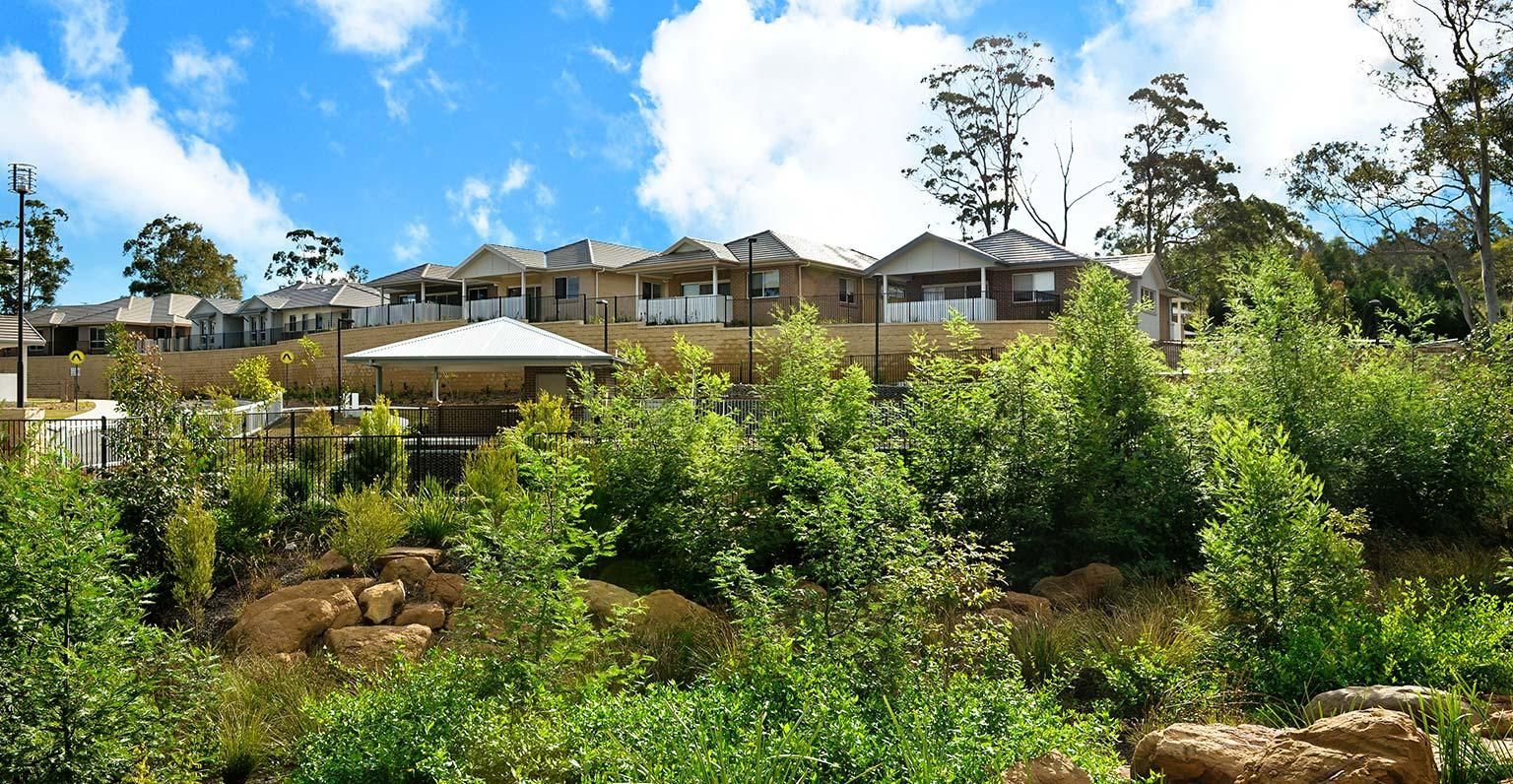 Glenhaven Green Retirement Village built by MJH Multi for Anglican Retirement Villages