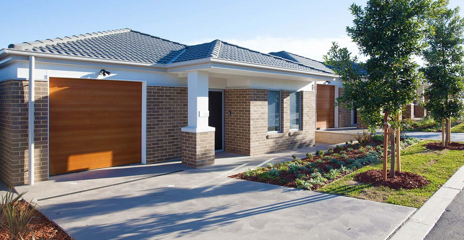 Independent Living Villas built by MJH Multi for Stockland. Willowdale Estate, NSW.